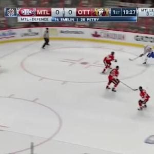 Craig Anderson Save on Brendan Gallagher (00:34/1st)