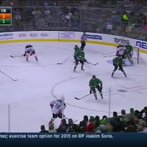 Kari Lehtonen Save on Patrick Maroon (07:29/1st)