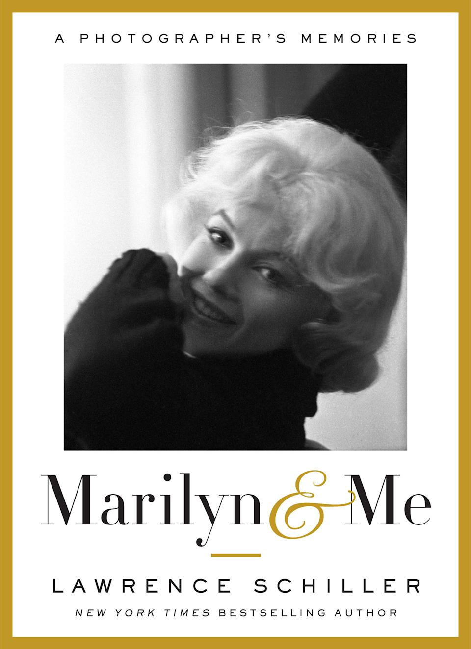 "This book cover image released by Doubleday shows ""Marilyn & Me: A Photographer's Memories,"" by Lawrence Schiller. (AP Photo/Doubleday)"