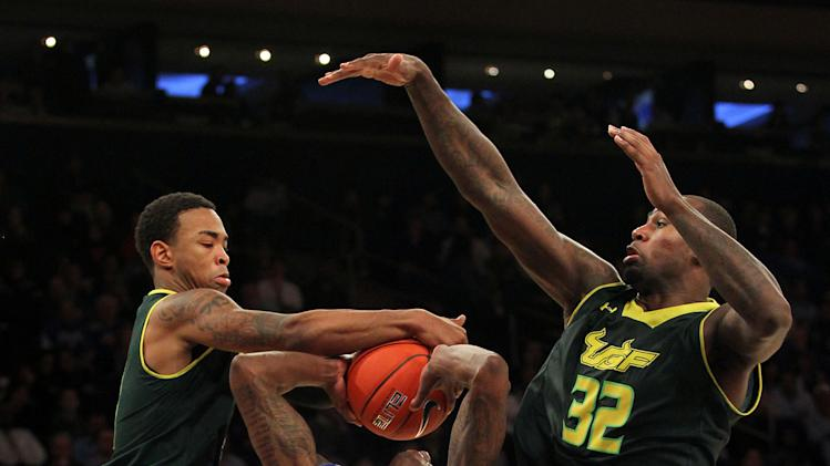 NCAA Basketball: Big East Tournament-Seton Hall vs USF