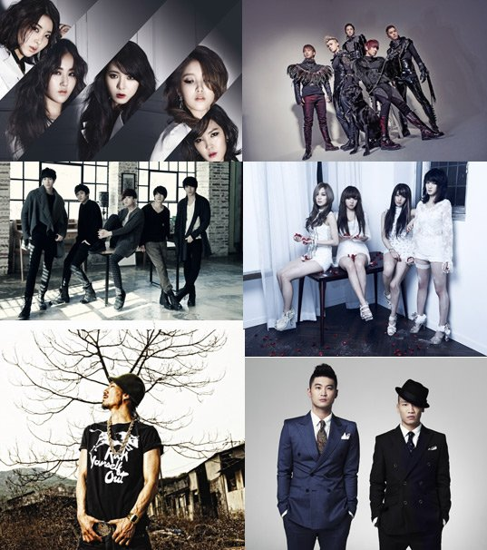 Who Are the Sixteen Artists Confirmed for ′M Countdown Hello Japan′?