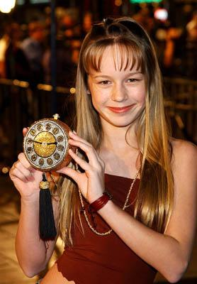 Premiere: Brie Larson at the LA premiere of Dreamworks' and Warner Brothers' The Time Machine - 3/4/2002