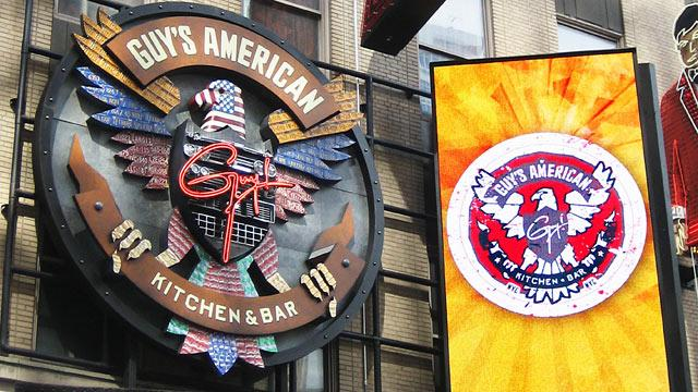 Guy Fieri Times Square Eatery Skewered by NYT Critic