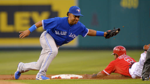 Trumbo's Angels snap skid, blast Blue Jays 8-2