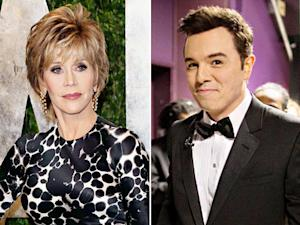 "Jane Fonda Slams Seth MacFarlane's ""We Saw Your Boobs"" Oscars Song"