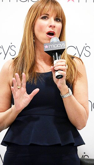 Jill Zarin promotes her new shapewear line at Macy's. (Astrid Stawiarz/Getty Images)