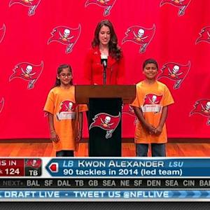 Tampa Bay Buccaneers pick Kwon Alexander No. 124 in 2015 NFL Draft