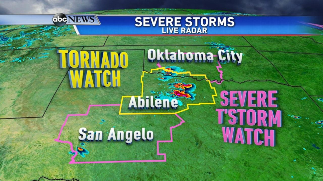 Severe Storms With Tornadoes and Heavy Rain in the Forecast Without a Break