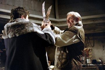 Sean Connery as Allan Quatermain in 20th Century Fox's The League of Extraordinary Gentlemen
