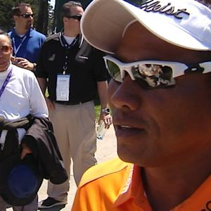 Thongchai Jaidee interview after Round 2 of Cadillac Match Play