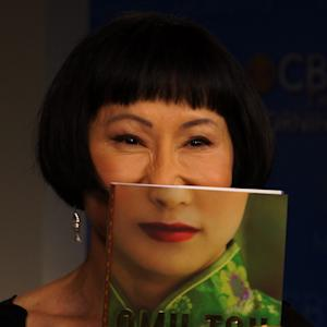Amy Tan's book cover goes viral, becomes a mask with meaning