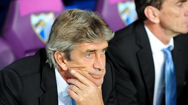 Manuel Pellegrini's Malaga were held to a goalless draw in the first leg against Borussia Dortmund