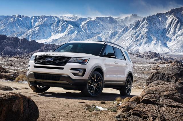 Ford Adds Sport Appearance Package To 2017 Explorer
