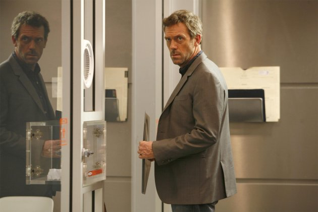 In this image released by Fox, Hugh Laurie portrays Dr. Gregory House in a scene from &quot;House, M.D.&quot; The Fox medical drama concludes its eight-season run on Monday, May 21, 2012, with a finale at 9 p.m. EDT, preceded by a one-hour retrospective. (AP Photo/Fox, Isabella Vosmikova)