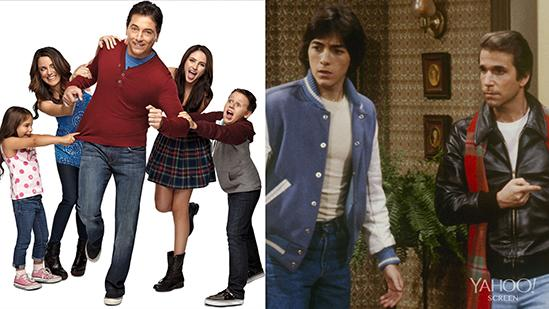 Scott Baio's Return to 'Happy Days' Set