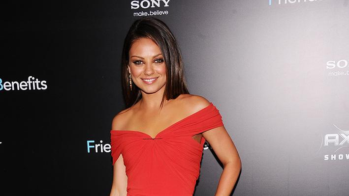 Friends with Benefits 2011 NY Premiere Mila Kunis