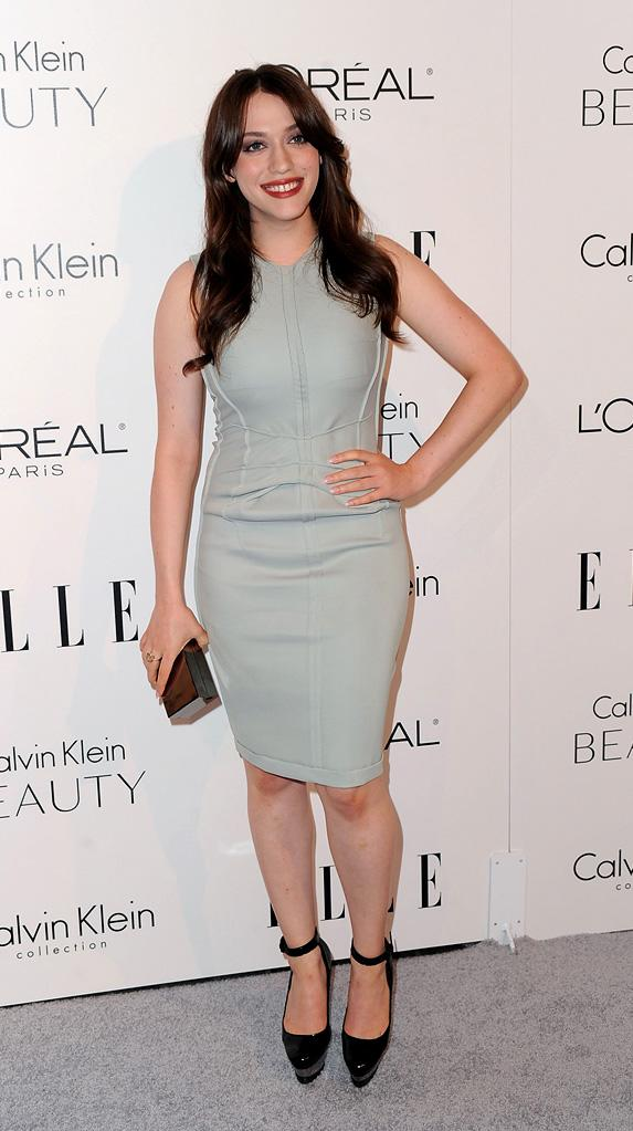 Elle's 17th annual Women in Hollywood Tribute 2010 Kat Dennings