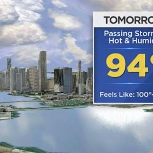 CBSMiami.com Weather @ Your Desk 7/30/14 1 PM