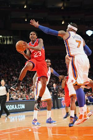 76ers hand Knicks 5th straight loss, 106-94