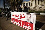 Egypt's Morsi signs draft charter into law