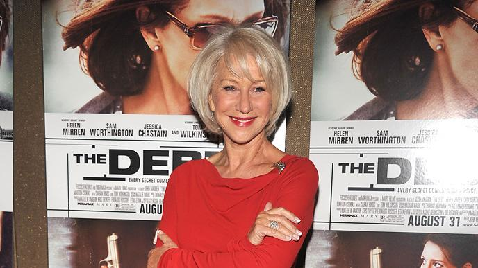 The Debt NY Screening 2011 Helen Mirren