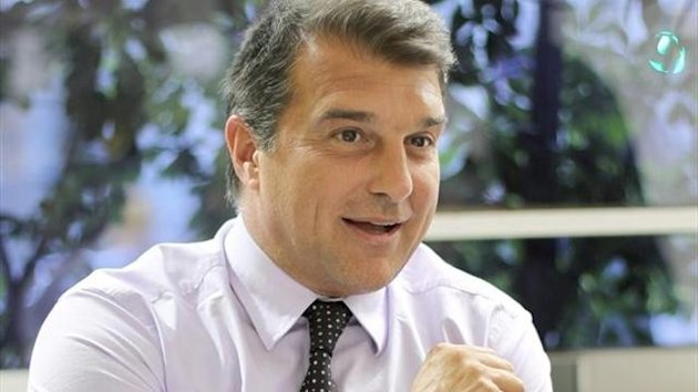 Joan Laporta Barcelona / Foto: Efe
