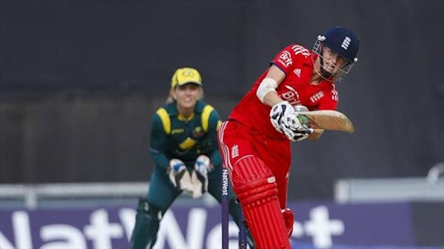 Lydia Greenway's brilliant unbeaten 80 led England to victory