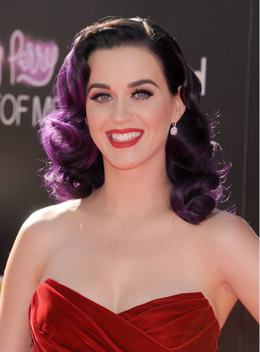 Katy Perry 'Part of me' Vestido rojo
