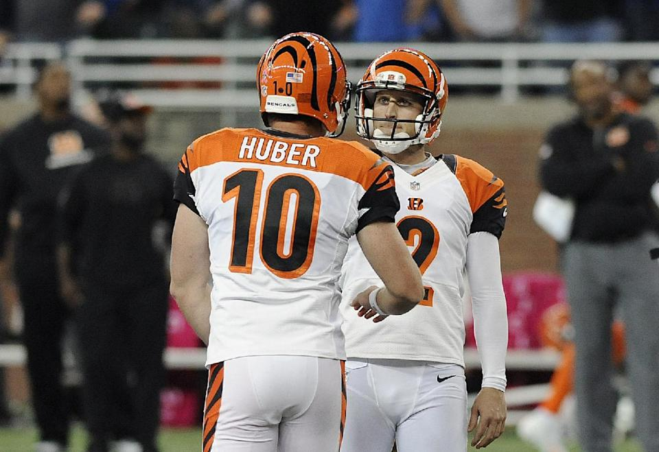 Nugent's last-second FGs have Bengals in 1st place