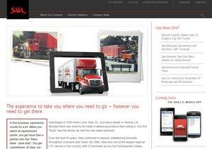 Saia Launches New Corporate Site; Redesigned LTL Website