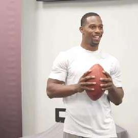 Victor Cruz Takes his Game to the Next Level with Vision Testing