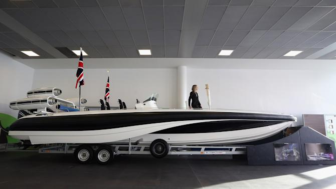 David Beckham's Olympic Opening Ceremony Speedboat Set To Be Auctioned
