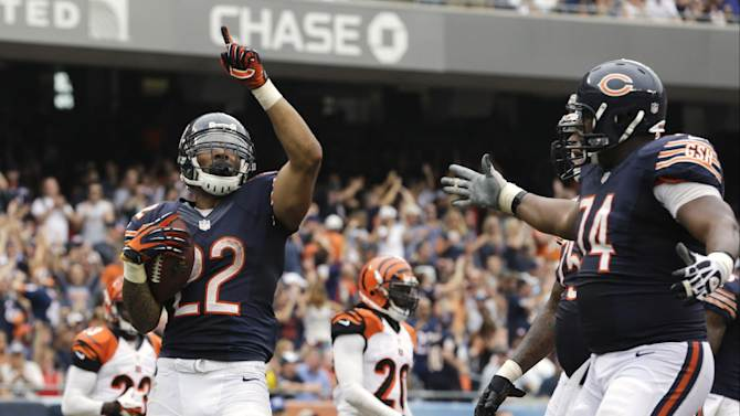 Cutler, Marshall lead Bears over Bengals 24-21