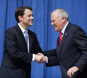 FILE - IN this Oct. 7, 2014, photo, Gov. Nathan Deal,…