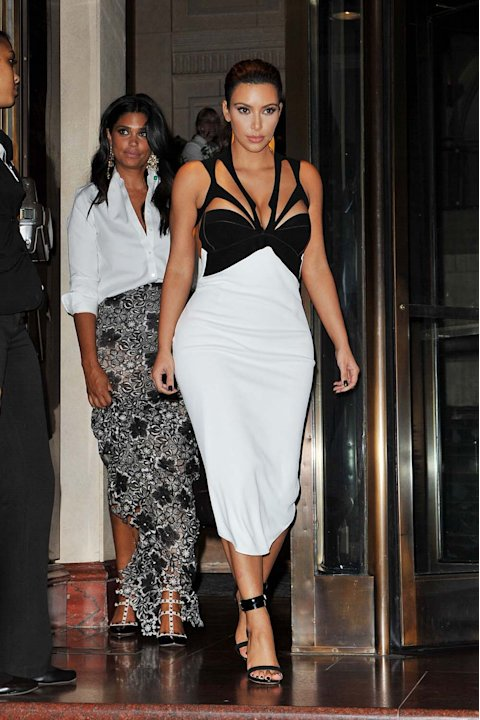 Kim Kardashian en evento de Dujour