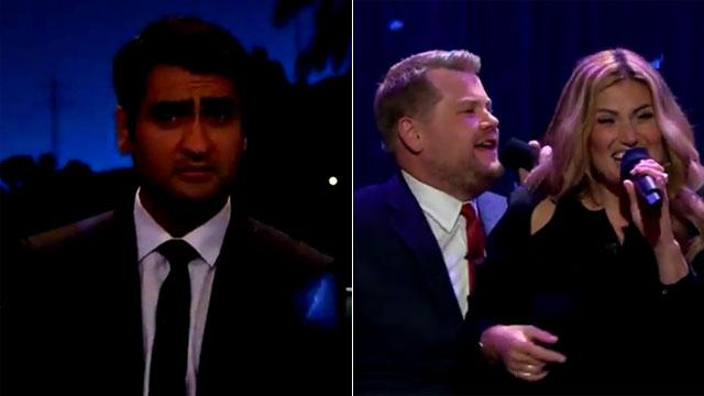 Idina Menzel and James Corden Lead 'Dirty Dancing' Party, 'Silicon Valley' Actor Not Impressed