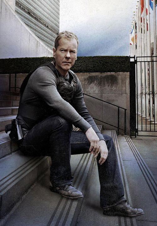"Kiefer Sutherland stars as Jack Bauer in ""24."""