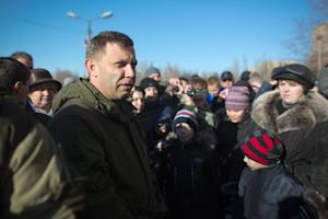 Alexander Zakharchenko, leader of the self-proclaimed …