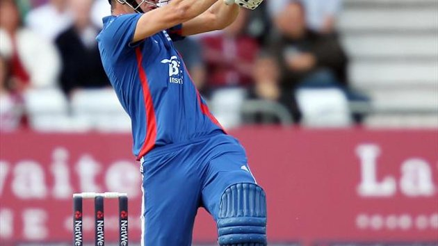 Alex Hales scored 56 runs off 35 deliveries on Thursday