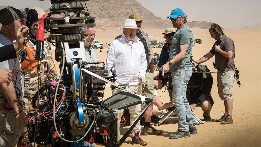 Ridley Scott Praises His Out-of-This-World 'The Martian' Crew