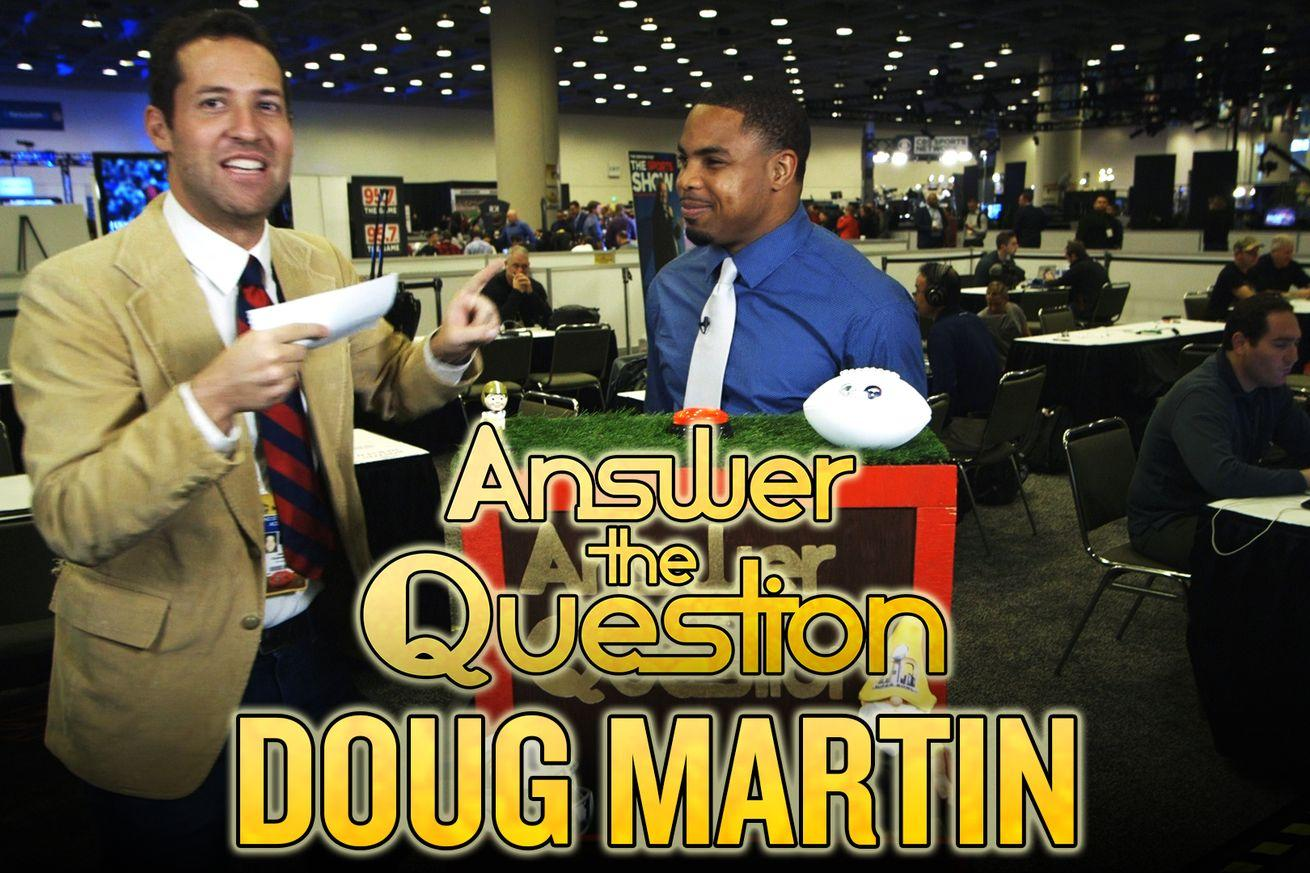 All-Pro RB Doug Martin does a spot-on impression of Peyton Manning