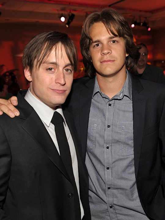 Scott Pilgrim vs the World LA premiere 2010 Keiran Culkin Johnny Simmons