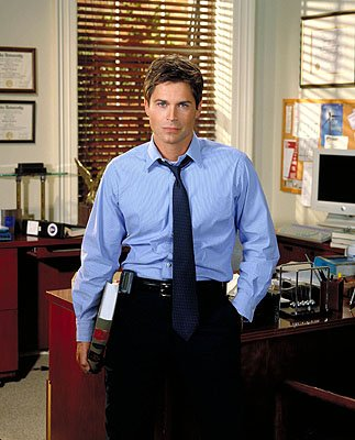 "Rob Lowe as Deputy Communications Director Sam Seaborn on NBC's ""The West Wing"" West Wing"