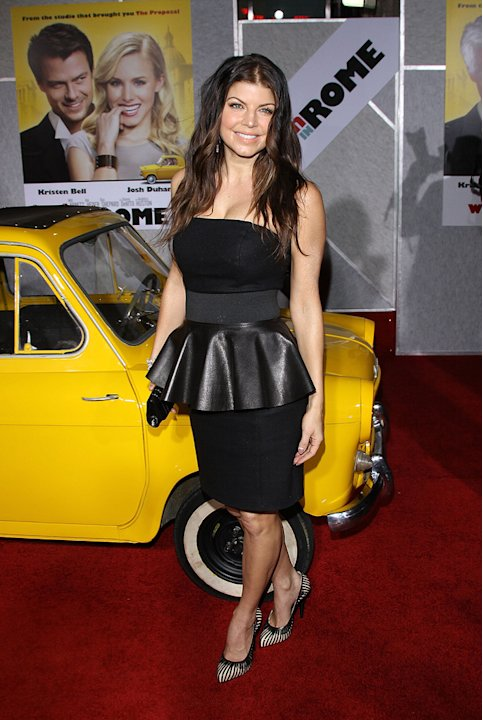 When in Rome LA Premiere 2010 Stacy Ferguson