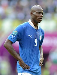 Mario Balotelli was allegedly subjected to racist chanting on Sunday