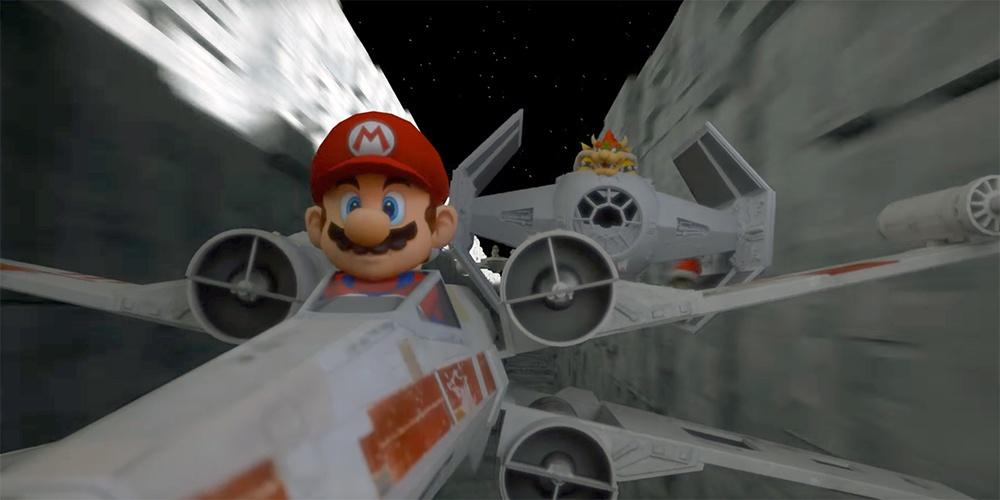 Star Kart is a universe where Star Wars and Mario Kart had a beautiful baby