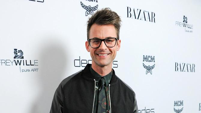 """FILE - This Feb. 28, 2013 file photo shows stylist Brad Goreski at the launch of Bravo's new series """"Dukes of Melrose"""" in Los Angeles. Goreski stars in the Bravo series, """"It's a Brad, Brad World,"""" airing Wednesdays at 10 p.m. EST. (Photo by Richard Shotwell/Invision/AP, file)"""