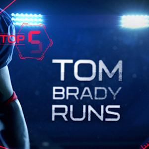 New England Patriots quarterback Tom Brady's top 5 runs