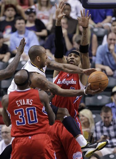 Granger leads Pacers past Clippers, 102-89