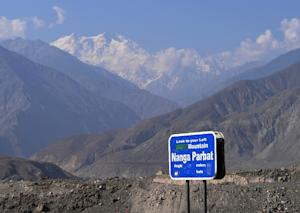 Nanga Parbat is the world's ninth tallest mountain …